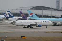 プルシアンブルーさんが、関西国際空港で撮影したフィンエアー MD-11の航空フォト(飛行機 写真・画像)