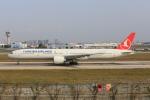 武彩航空公司(むさいえあ)さんが、アタテュルク国際空港で撮影したターキッシュ・エアラインズ 777-3F2/ERの航空フォト(飛行機 写真・画像)