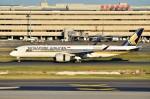 ちかぼーさんが、羽田空港で撮影したシンガポール航空 A350-941XWBの航空フォト(写真)