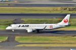 ちかぼーさんが、羽田空港で撮影したジェイ・エア ERJ-190-100(ERJ-190STD)の航空フォト(写真)
