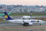 funi9280さんが、福岡空港で撮影したスカイマーク 737-8Q8の航空フォト(写真)