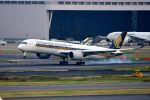 まいけるさんが、羽田空港で撮影したシンガポール航空 A350-941XWBの航空フォト(写真)