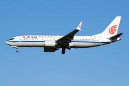 航空フォト:B-1223 中国国際航空 737 MAX 8