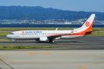 はるかのパパさんが、関西国際空港で撮影した奥凱航空 737-8KFの航空フォト(写真)