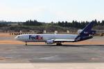 もぐ3さんが、成田国際空港で撮影したフェデックス・エクスプレス MD-11Fの航空フォト(飛行機 写真・画像)