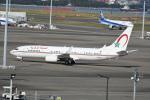シュウさんが、羽田空港で撮影したモロッコ政府 737-8KB BBJ2の航空フォト(写真)