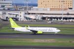 けいとパパさんが、羽田空港で撮影したソラシド エア 737-86Nの航空フォト(写真)