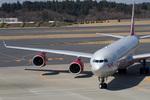 しゅあさんが、成田国際空港で撮影したヴァージン・アトランティック航空 A340-642の航空フォト(写真)