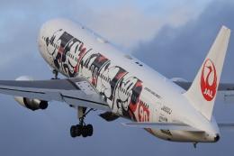 Fly Yokotayaさんが、伊丹空港で撮影した日本航空 767-346/ERの航空フォト(飛行機 写真・画像)