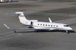 スポット110さんが、羽田空港で撮影したDobai Air Wing Gulfstream G650 (G-VI)の航空フォト(写真)