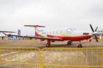 Mame @ TYOさんが、珠海金湾空港で撮影した中国企業所有 PC-12の航空フォト(写真)