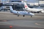 つっさんさんが、伊丹空港で撮影した朝日新聞社 560 Citation Encoreの航空フォト(写真)