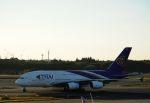 takatakaさんが、成田国際空港で撮影したタイ国際航空 A380-841の航空フォト(写真)
