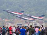 Mame @ TYOさんが、珠海金湾空港で撮影した中国人民解放軍 空軍 J-10の航空フォト(写真)