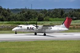 kumagorouさんが、南大東空港で撮影した琉球エアーコミューター DHC-8-314 Dash 8の航空フォト(写真)