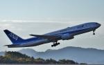 鉄バスさんが、広島空港で撮影した全日空 777-281/ERの航空フォト(写真)
