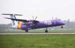 X-Airlinesさんが、サウサンプトン空港で撮影したフライビー DHC-8-402Q Dash 8の航空フォト(写真)