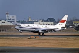 Gambardierさんが、名古屋飛行場で撮影した中国民用航空局 737-2T4/Advの航空フォト(飛行機 写真・画像)