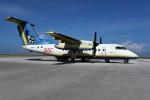 kumagorouさんが、北大東空港で撮影した琉球エアーコミューター DHC-8-103Q Dash 8の航空フォト(飛行機 写真・画像)