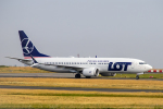 xingyeさんが、パリ シャルル・ド・ゴール国際空港で撮影したLOTポーランド航空 737-8-MAXの航空フォト(写真)
