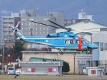 ここはどこ?さんが、札幌飛行場で撮影した北海道警察 AW139の航空フォト(写真)
