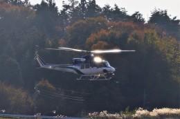 ヘリオスさんが、福島空港で撮影した北海道防災航空隊 412の航空フォト(飛行機 写真・画像)
