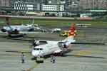 アカゆこさんが、台北松山空港で撮影した遠東航空 ATR-72-600の航空フォト(写真)