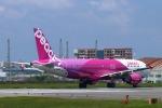 John Doeさんが、福岡空港で撮影したピーチ A320-214の航空フォト(写真)