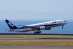 yabyanさんが、中部国際空港で撮影した全日空 777-281の航空フォト(飛行機 写真・画像)