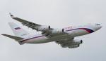Seiiさんが、シンガポール・チャンギ国際空港で撮影したロシア航空 Il-96-300の航空フォト(写真)