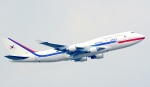 Seiiさんが、シンガポール・チャンギ国際空港で撮影した大韓民国空軍 747-4B5の航空フォト(写真)