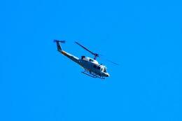 まいけるさんが、東京・浅草上空で撮影したアメリカ空軍 UH-1Nの航空フォト(写真)
