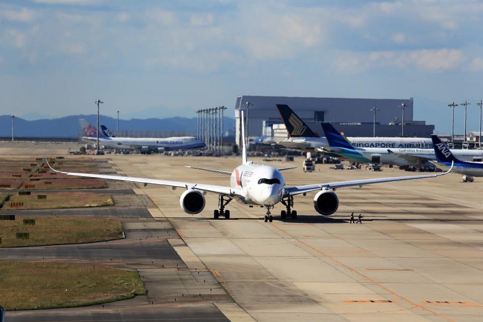 T.Sazenさんのマレーシア航空 Airbus A350-900 (9M-MAE) 航空フォト