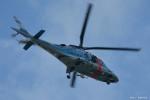 やまちゃんKさんが、那覇空港で撮影した沖縄県警察 A109E Powerの航空フォト(写真)