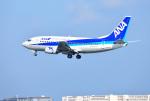 mojioさんが、那覇空港で撮影したANAウイングス 737-54Kの航空フォト(飛行機 写真・画像)