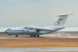 デデゴンさんが、山口宇部空港で撮影したロシア空軍 Il-76MDの航空フォト(飛行機 写真・画像)