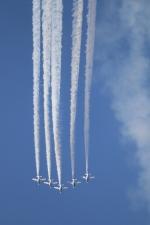 やまけんさんが、松島基地で撮影した航空自衛隊 T-4の航空フォト(写真)