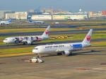 ひとつぼし / 航空YouTuberさんが、羽田空港で撮影した日本航空 767-346/ERの航空フォト(飛行機 写真・画像)