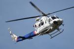 Redpepperさんが、 21世紀の森公園で撮影した福島県消防防災航空隊 412EPの航空フォト(写真)