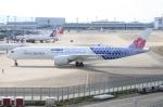 青春の1ページさんが、関西国際空港で撮影したチャイナエアライン A350-941XWBの航空フォト(写真)