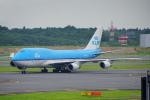 ちゃぽんさんが、成田国際空港で撮影したKLMオランダ航空 747-406Mの航空フォト(写真)