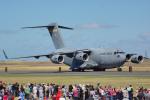 ちゃぽんさんが、アバロン空港で撮影したアメリカ空軍 C-17A Globemaster IIIの航空フォト(写真)