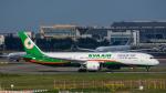 2wmさんが、台湾桃園国際空港で撮影したエバー航空 787-9の航空フォト(写真)