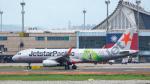 2wmさんが、台湾桃園国際空港で撮影したジェットスター・パシフィック A320-232の航空フォト(写真)