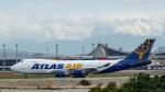 2wmさんが、台湾桃園国際空港で撮影したアトラス航空 747-47UF/SCDの航空フォト(写真)