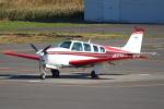 セブンさんが、札幌飛行場で撮影した日本個人所有 A36 Bonanza 36の航空フォト(飛行機 写真・画像)