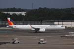 けいとパパさんが、成田国際空港で撮影したフィリピン航空 A321-231の航空フォト(写真)