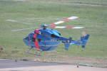 プルシアンブルーさんが、花巻空港で撮影した茨城県警察 BK117C-1の航空フォト(写真)
