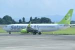 kumagorouさんが、鹿児島空港で撮影したソラシド エア 737-81Dの航空フォト(写真)