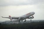鈴鹿@風さんが、成田国際空港で撮影したスイスインターナショナルエアラインズ A340-313Xの航空フォト(写真)